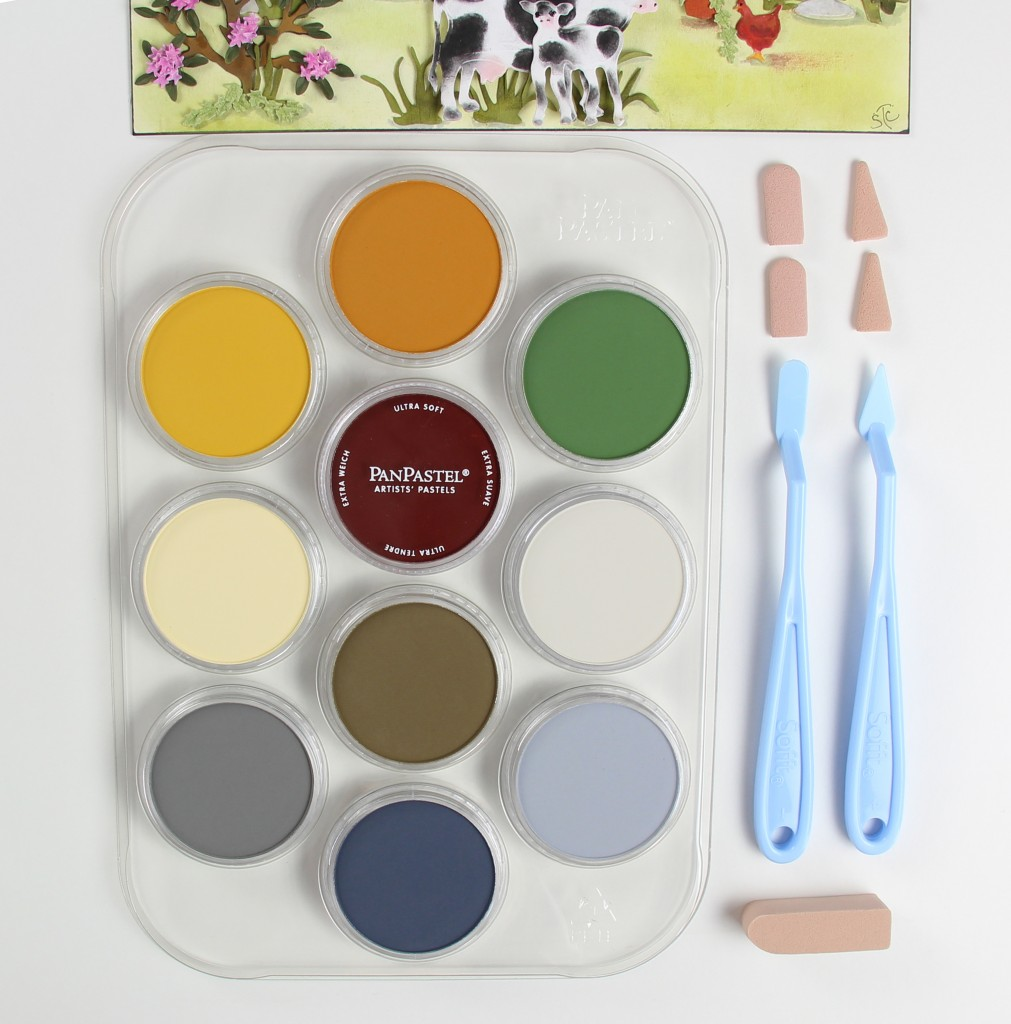 PanPastel Flower Coloring Kit No.3 Contents 30117 B