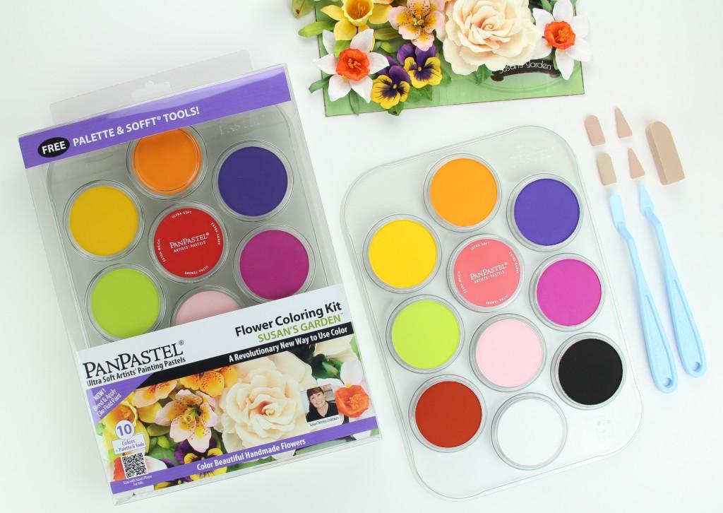 PanPastel Susan's Garden Kit & Contents 30115 2