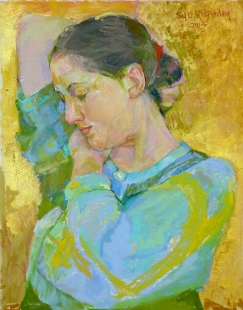 Homage to Klimt copy