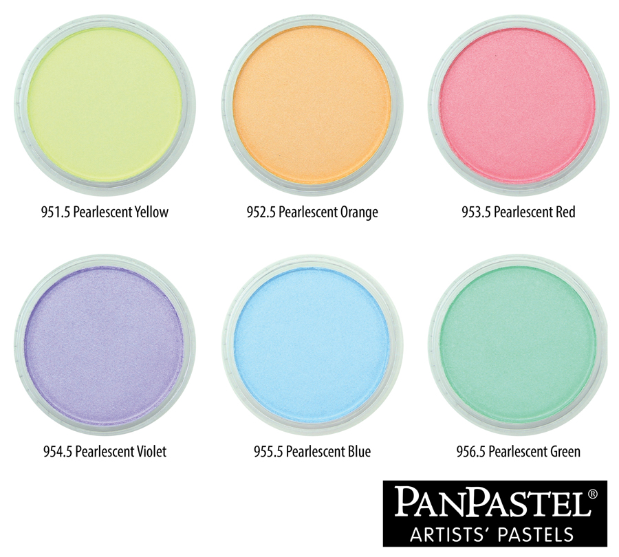 Pearlescent Colors Group with Captions sl