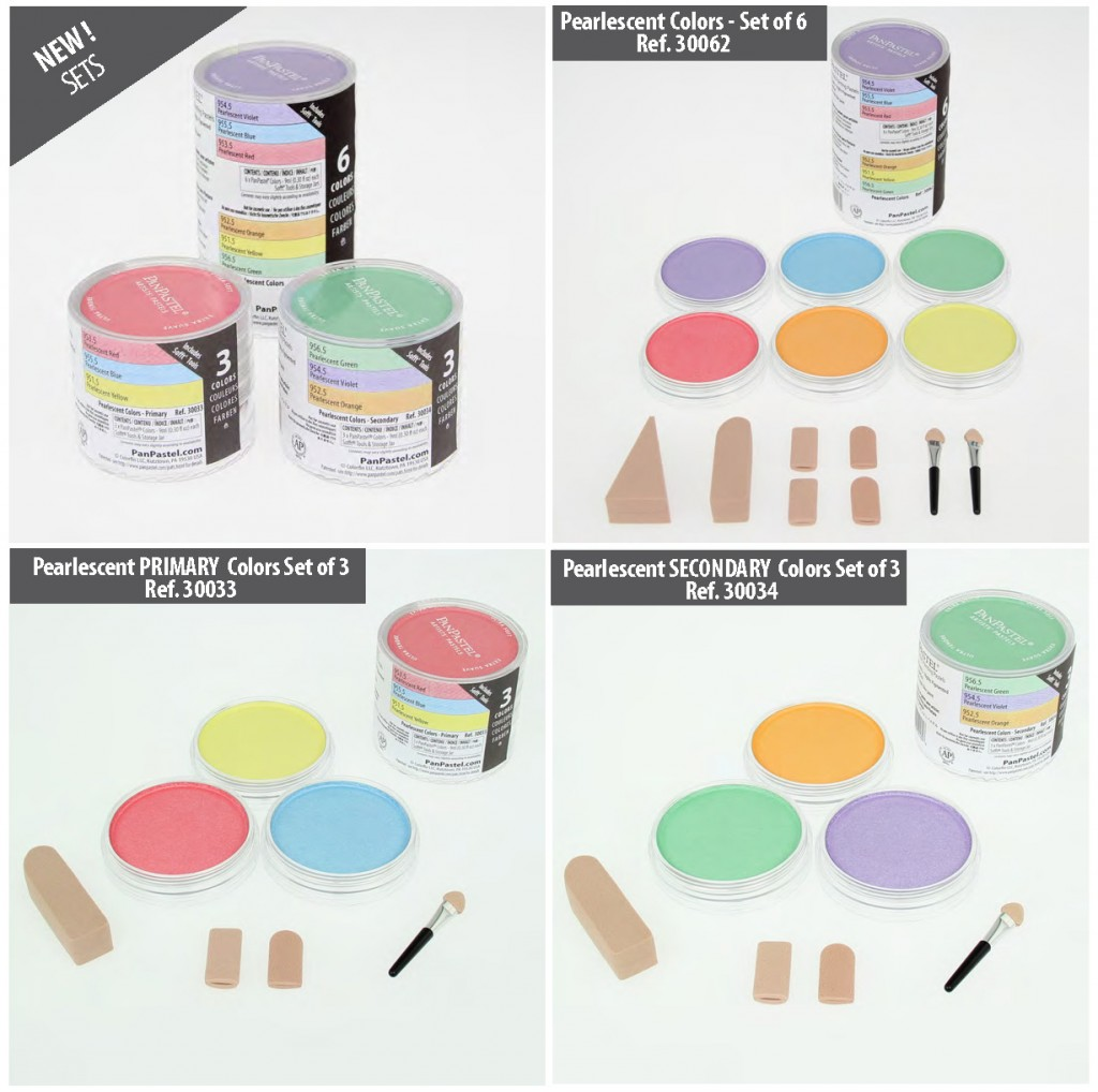 Pearlescent Colors Sets
