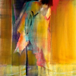 Dawn Emerson Metamorphosis - PanPastel / Monotype