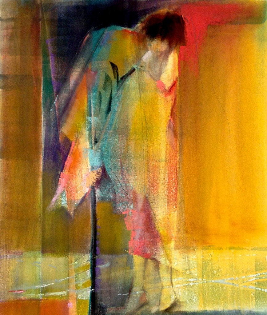 "Dawn Emerson ""Metamorphosis"" - PanPastel / Monotype"