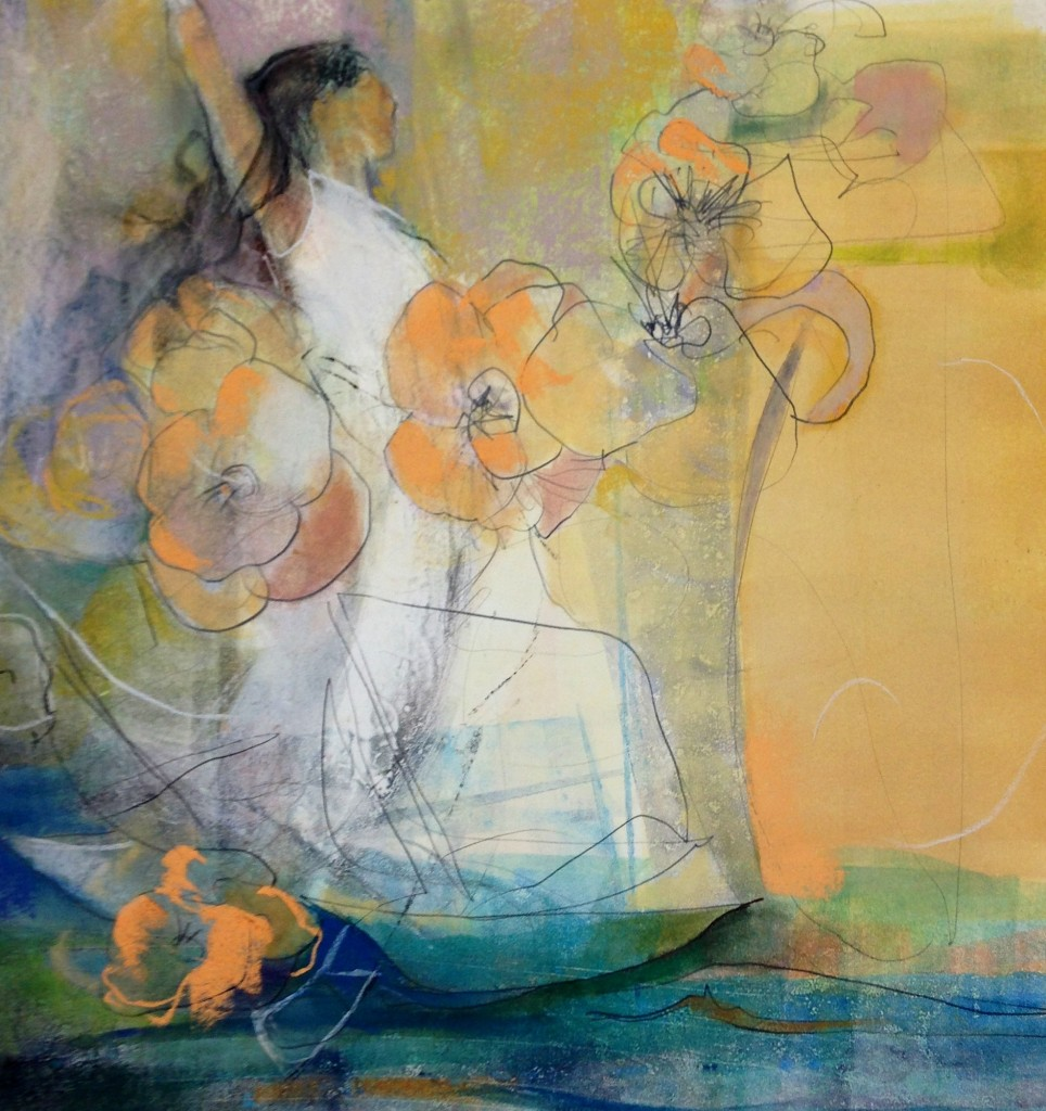 Dawn Emerson Sailing To Byzantium - PanPastel / Monotype