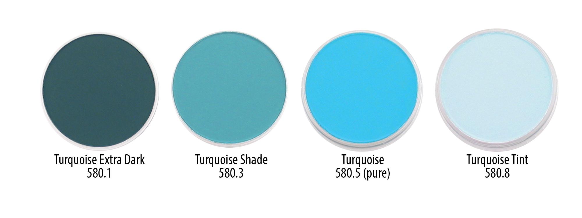 Turquoise Ex Dark to Tint