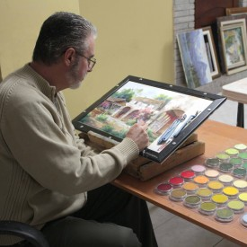 Johannes with PanPastel Colors