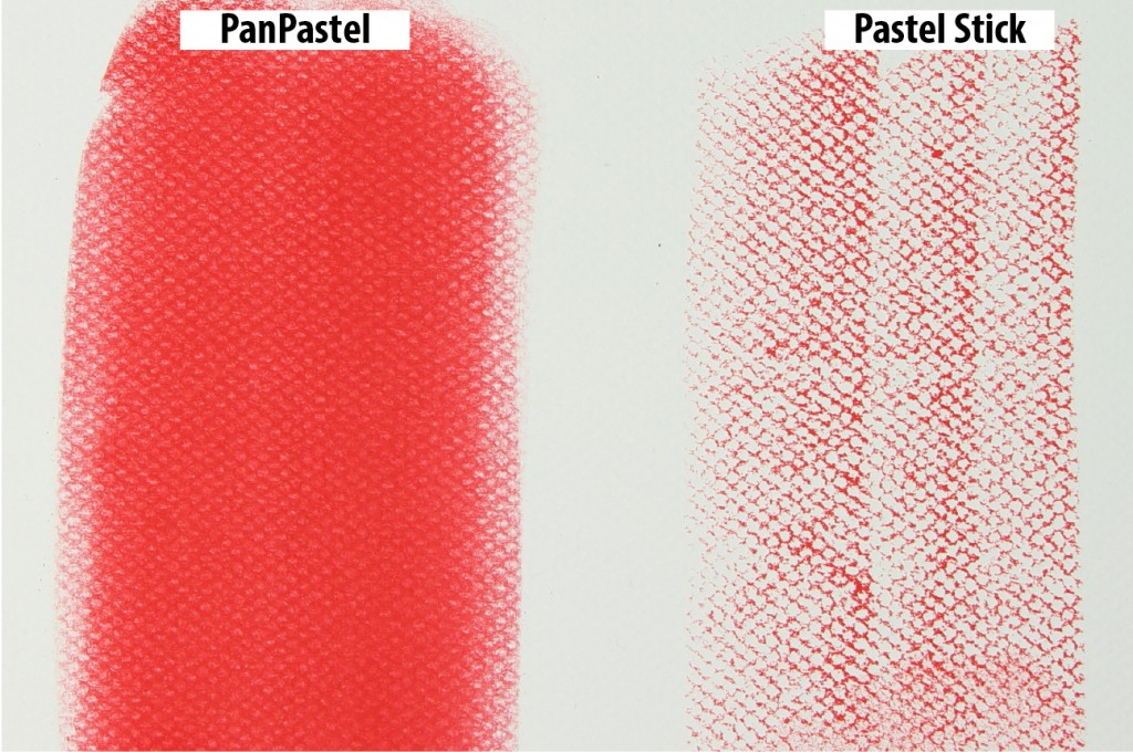 PanPastel vs Stick Color Marks