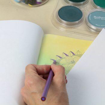 Coloring Gradation Add Pencil 1