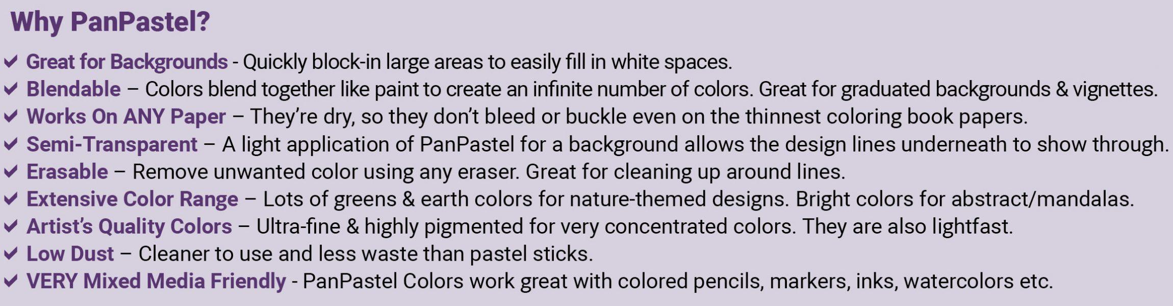 PanPastel Benefits