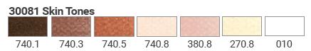 skin-tones-set-colors