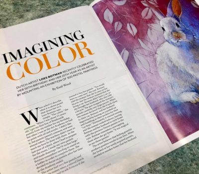 Enid Wood's Article - The Pastel Journal June 2019