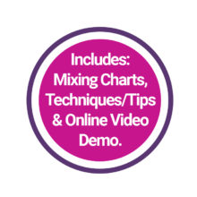 Includes Mixing Charts, video etc seal