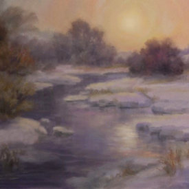 "Full Painting Demo - Johannes Vloothuis - ""Misty Sunset"""