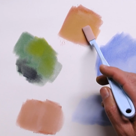 How to Layer & Blend PanPastel